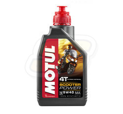 Olej 5W40 Motul Scooter Power